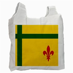 Flag Of The Fransaskois Recycle Bag (one Side) by abbeyz71