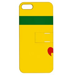 Flag Of The Fransaskois Apple Iphone 5 Hardshell Case With Stand