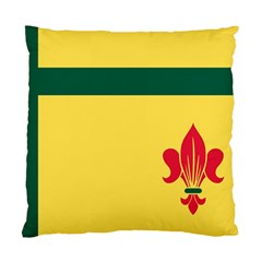 Flag Of The Fransaskois Standard Cushion Case (one Side)