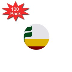 Flag Of Franco Manitobans 1  Mini Buttons (100 Pack)  by abbeyz71