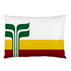 Flag Of Franco-manitobans Pillow Case by abbeyz71