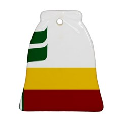 Flag Of Franco-manitobans Bell Ornament (two Sides) by abbeyz71