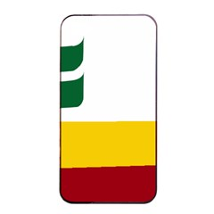 Flag Of Franco Manitobans Apple Iphone 4/4s Seamless Case (black) by abbeyz71