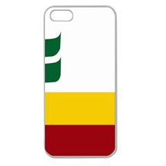 Flag Of Franco Manitobans Apple Seamless Iphone 5 Case (clear) by abbeyz71