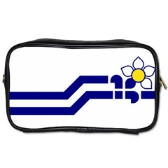 Flag Of The Franco Columbians Toiletries Bag (two Sides) by abbeyz71