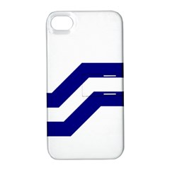 Flag Of The Franco Columbians Apple Iphone 4/4s Hardshell Case With Stand by abbeyz71