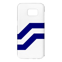 Flag Of The Franco Columbians Samsung Galaxy S7 Edge Hardshell Case by abbeyz71