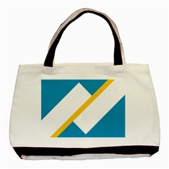 Flag Of The Franco Yukonnais Basic Tote Bag