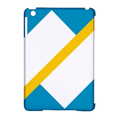 Flag Of The Franco Yukonnais Apple Ipad Mini Hardshell Case (compatible With Smart Cover)