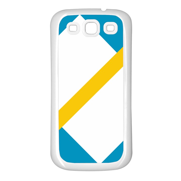 Flag of the Franco-Yukonnais Samsung Galaxy S3 Back Case (White)