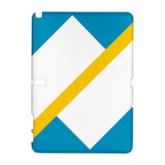 Flag Of The Franco Yukonnais Samsung Galaxy Note 10 1 (p600) Hardshell Case