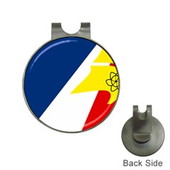 Franco Terreneuviens Flag Hat Clips With Golf Markers