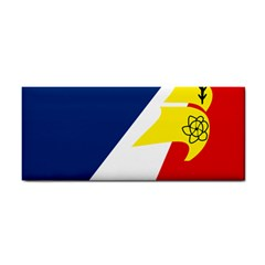 Franco Terreneuviens Flag Hand Towel by abbeyz71