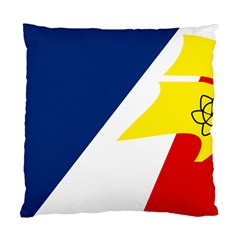 Franco Terreneuviens Flag Standard Cushion Case (two Sides) by abbeyz71
