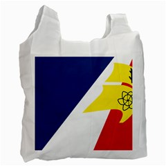 Franco Terreneuviens Flag Recycle Bag (two Side) by abbeyz71