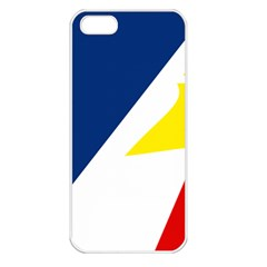 Franco Terreneuviens Flag Apple Iphone 5 Seamless Case (white) by abbeyz71