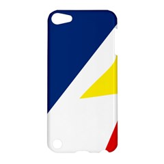 Franco Terreneuviens Flag Apple Ipod Touch 5 Hardshell Case by abbeyz71