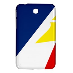 Franco Terreneuviens Flag Samsung Galaxy Tab 3 (7 ) P3200 Hardshell Case  by abbeyz71