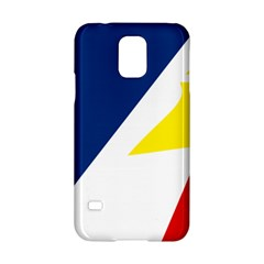 Franco Terreneuviens Flag Samsung Galaxy S5 Hardshell Case  by abbeyz71