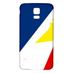 Franco Terreneuviens Flag Samsung Galaxy S5 Back Case (white) by abbeyz71