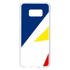 Franco Terreneuviens Flag Samsung Galaxy S8 Plus White Seamless Case by abbeyz71