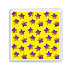Ombre Glitter  Star Pattern Memory Card Reader (square)