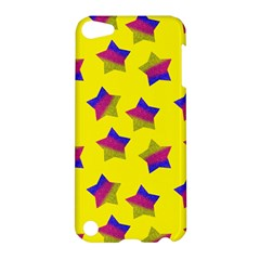 Ombre Glitter  Star Pattern Apple Ipod Touch 5 Hardshell Case