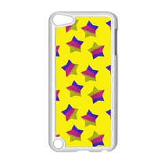 Ombre Glitter  Star Pattern Apple Ipod Touch 5 Case (white)