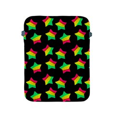 Ombre Glitter Pink Green Star Pat Apple Ipad 2/3/4 Protective Soft Cases