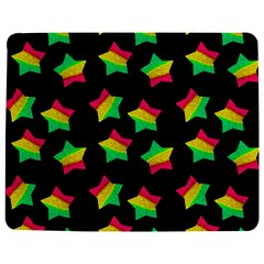 Ombre Glitter Pink Green Star Pat Jigsaw Puzzle Photo Stand (rectangular)