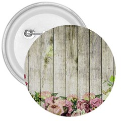 Floral Wood Wall 3  Buttons by snowwhitegirl