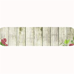 Floral Wood Wall Large Bar Mats by snowwhitegirl