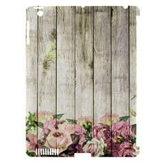 Floral Wood Wall Apple Ipad 3/4 Hardshell Case (compatible With Smart Cover) by snowwhitegirl