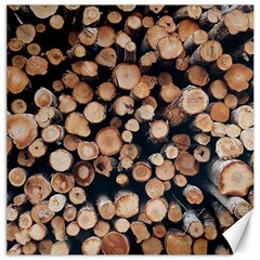 Wood Stick Piles Canvas 16  X 16  by snowwhitegirl