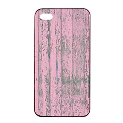 Old Pink Wood Wall Apple Iphone 4/4s Seamless Case (black) by snowwhitegirl