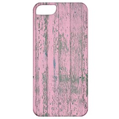 Old Pink Wood Wall Apple Iphone 5 Classic Hardshell Case