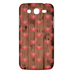 Zen Lotus Wood Wall Samsung Galaxy Mega 5 8 I9152 Hardshell Case