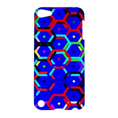 Blue Bee Hive Pattern Apple Ipod Touch 5 Hardshell Case by Jojostore