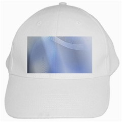 Blue Star Background White Cap
