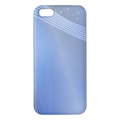 Blue Star Background Iphone 5s/ Se Premium Hardshell Case by Jojostore