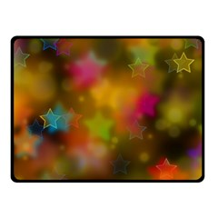 Star Background Texture Pattern Fleece Blanket (small)