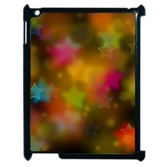 Star Background Texture Pattern Apple Ipad 2 Case (black)