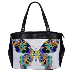 Abstract Animal Art Butterfly Copy Oversize Office Handbag