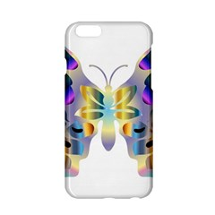 Abstract Animal Art Butterfly Copy Apple Iphone 6/6s Hardshell Case