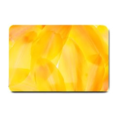 Yellow Pattern Painting Small Doormat