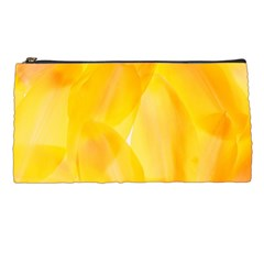 Yellow Pattern Painting Pencil Cases by Jojostore