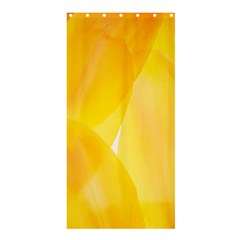 Yellow Pattern Painting Shower Curtain 36  X 72  (stall)