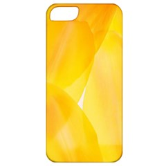 Yellow Pattern Painting Apple Iphone 5 Classic Hardshell Case by Jojostore