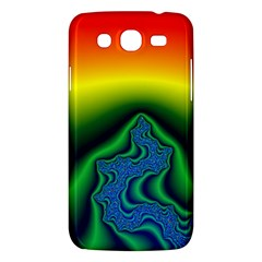 Fractal Wallpaper Water And Fire Samsung Galaxy Mega 5 8 I9152 Hardshell Case  by Jojostore