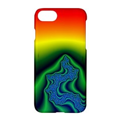 Fractal Wallpaper Water And Fire Apple Iphone 7 Hardshell Case